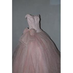Vestido De Xv Años Rafael Couture Talla S Color Rosa Baby
