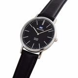 Reloj Williams Design Slim Acero. Wr 50m. Malla De Cuero