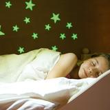 Estrellas Fluorescentes Paquete Con 100 Piezas
