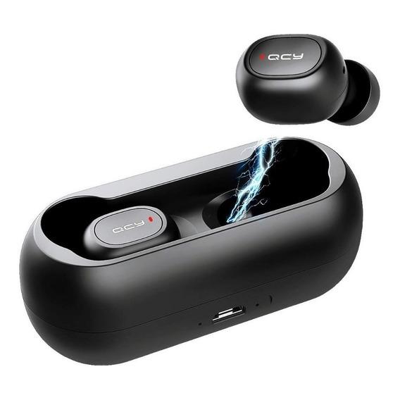 Auriculares Bluetooth Qcy T1 Inalambricos Micrófono Carga