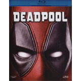 Deadpool (2016) Marvel Ryan Reynolds Blu-ray