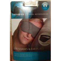 Samsonite Antifaz Mascara Para Dormir Y Tapones Oidos