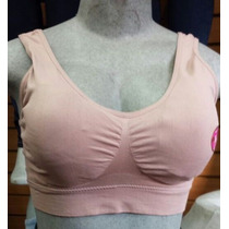 Brasier Sostén Brenda Color Guayaba Push Up Air Bras