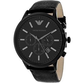 Reloj Original Emporio Armani Hombre Ar2461 Deportivo Negro