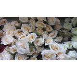 10 Unid Buque Rosas Artificiais Decoração Festas,casamentos