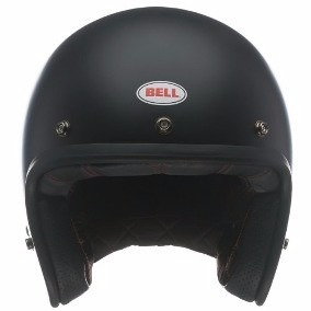 Capacete Bell Aberto Custom 500 Solid Black Fosco N 58