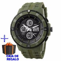 Reloj Dual Sumergible Skmei1046 Calendario Alarma Cronómetro