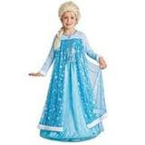 Vestido Elsa Frozen Disfraz Grande Nena Princesa Cumpleaños