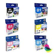 Tinta Epson Original 81 T081120 T081220 T081320 420 520 620