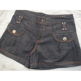 Lote 4 Peças - Shorts Bermuda Planet Girl + Hering + Outras