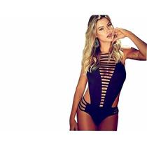 Body Feminino Collant Suplex Nova Moda S/ Renda