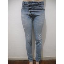 Calça Jeans Tipo Saruel Tam 38 Dioxes Usado Bom Estado