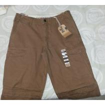 Pantalon Docker Original Caballero Cargo Jean Marron 32x32
