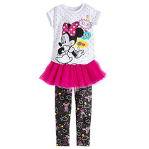 Conjunto Original Disney Store Minnie Talle 5/10 Años Tutú