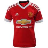 Playera Local Manchester United 15/16 Niño adidas Ac1418