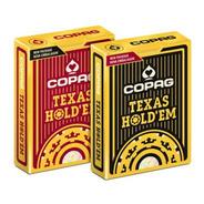 2 Baralhos Copag Texas Hold'em Poker Original Profissional