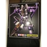 Transformers Masterpiece Skywarp Sellado Mp-11sw