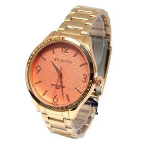 eb13095160f Relógio Atlântic Feminino Rose - Relógios no Mercado Livre Brasil