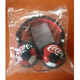 Auriculares Originales Coca Cola Edición Mundial Rusia 2018