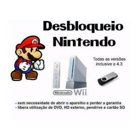Destrave Desbloqueio Nintendo Wii Qualquer Região Definitivo