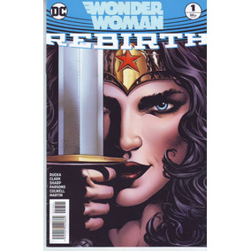 Comic Dc Universo Rebirth Wonder Woman # 1 Español Televisa