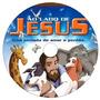 4 Dvds - Jesus Biblia Kids Diante Trono Midinho Frete Grátis
