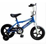 Bicicleta Infantil Para Niño Rodada 12 Timbre De Regalo