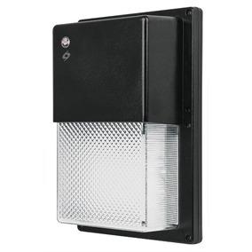 Luminario Exterior Con Foto Celda 16w 65k Led Volteck 47381