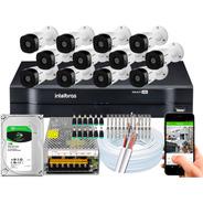 Kit 12 Câmeras Intelbras Multi Hd 20m Vhl 1120b Mhdx 1116