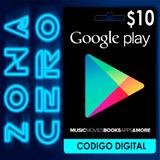Tarjeta Google Play Store