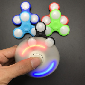 Fidget Spinner Led Disponibilidad Inmediata
