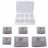 Kit Anzol C/ 600 Unid. - 100 Anzol De Cada 6 Ao 16 + Brinde