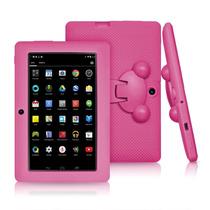 Tablet Infantil Uso Rudo Lillypad Jr. Kids Android - Rosa