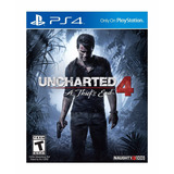 Uncharted 4 A Thiefs End Ps4 Fisico New Full Gamer
