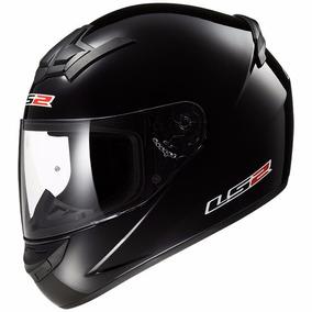 Casco Ls2 Modelo Single Mono Ff350 Gloss Black Brillante !!!