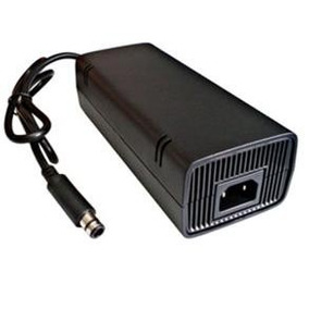 Fonte Xbox 360 Super Slim Bivolt Automático Cabo De Energia