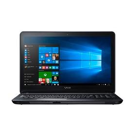 Notebook Vaio Fit 15f Core I7 8gb 1tb W10 - Preto