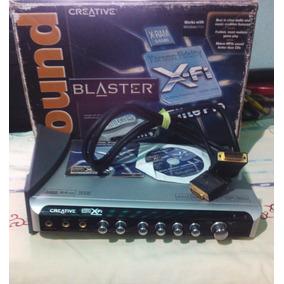Tarjeta De Sonido Sound Blaster Xfi Elite Pro