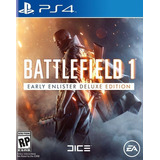 Battlefield 1 Early Enlister Deluxe Edition. Ps4