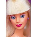 Mattel Barbie Peinados Magicos 1990 Divertidos Accesorios