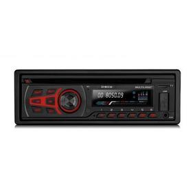 Toca Cd Automotivo Multilaser P3322 Bluetooth - Mp3