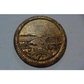 Medalha Comemorativa Da Festa Da Uva-1950
