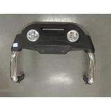 Defensa Con Neblineros Acero Inox. Nissan Terrano 1999-2013