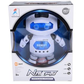 Robô Droid Dancarino Helicóptero Musical Luzes Led War 08