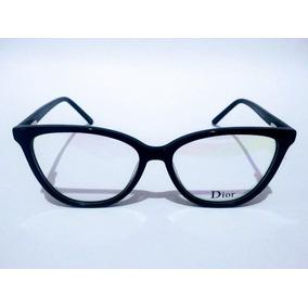 3b8c6ed540dfd Lancamento Oculos Dior Gatinho - Óculos Armações no Mercado Livre Brasil