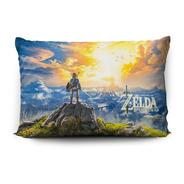 Funda De Almohada The Legend Of Zelda Bow 70x45cm Vudú Love