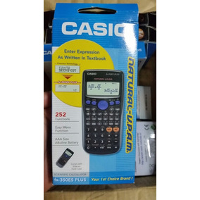 Calculadora Científica Casio Fx350es Plus, 100% Original