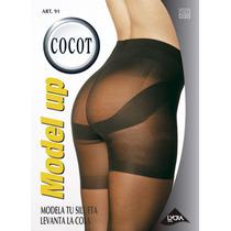 Cocot 91 Panty Media Modeladora Levanta La Cola T4 Ne