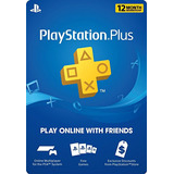 Psn Plus 12 Meses - Chile - Digital