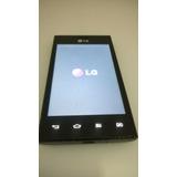 Smartphone Lg Preto E615f Com Dual Chip- Usado Barato